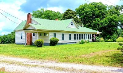 Elbert County, Franklin County, Hart County Single Family Home For Sale: 1896 Bowman Hwy