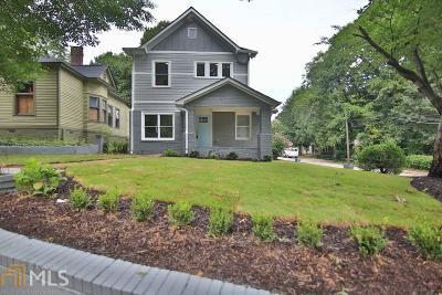 Atlanta Single Family Home New: 381 Haas Ave