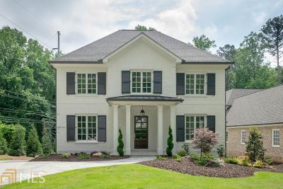 Buckhead Single Family Home For Sale: 3091 Rhodenhaven Dr