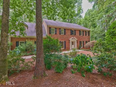 Atlanta Single Family Home New: 9335 Huntcliff