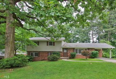 Atlanta Single Family Home New: 2962 Appling Drive