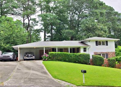 Chamblee Single Family Home Under Contract: 2961 Appling Dr