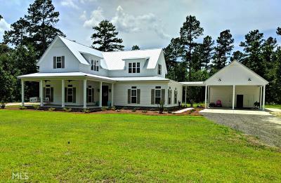 Statesboro Single Family Home For Sale: 205 Five Chop Rd