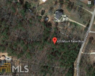 Oxford Residential Lots & Land For Sale: 655 Mt Tabor Rd
