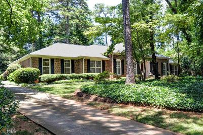 Buckhead Single Family Home Under Contract: 762 Loridans Dr