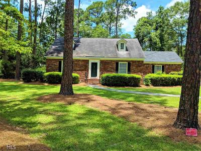 Statesboro Single Family Home For Sale: 116 Woodlawn Dr