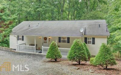Ellijay Single Family Home For Sale: 1323 Zenith Trl