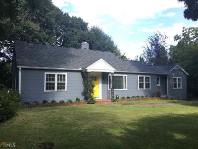 Hapeville Single Family Home For Sale: 3440 Old Jonesboro Rd
