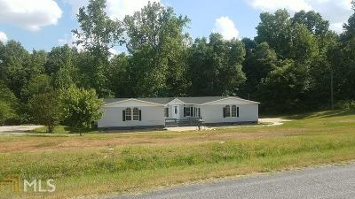 Elbert County, Franklin County, Hart County Single Family Home Under Contract: 2165 Adamstown Rd