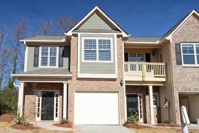 Atlanta Condo/Townhouse New: 2393 Castle Keep Way #Lot #52