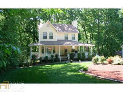 Dawsonville Single Family Home For Sale: 172 Oak Harbor Trl