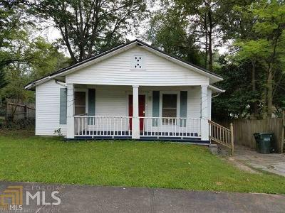 Hapeville Single Family Home For Sale: 554 Oak Dr