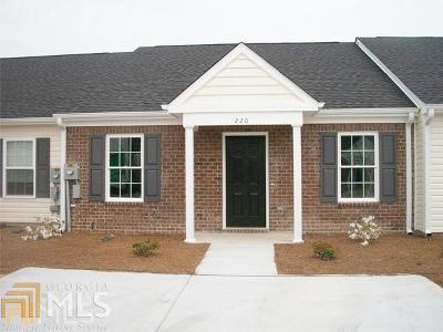 Statesboro Condo/Townhouse For Sale: 235 Sunview Dr