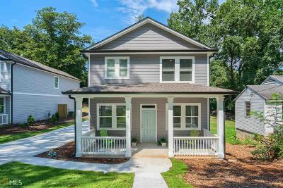 Hapeville Single Family Home For Sale: 3115 Dogwood Dr