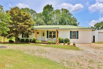 Bowdon Single Family Home Under Contract: 274 Holly Rd