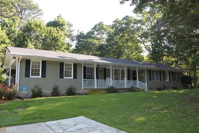Oxford Single Family Home Under Contract: 489 Old Highway 81 Spur