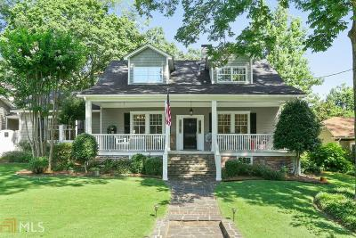 Historic Marietta Single Family Home For Sale: 209 N Forest Ave