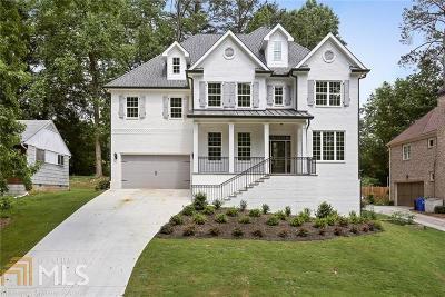 Brookhaven Single Family Home For Sale: 2939 Parkridge Dr