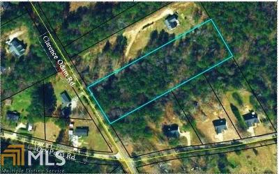 Monroe Residential Lots & Land For Sale: Clarence Odum