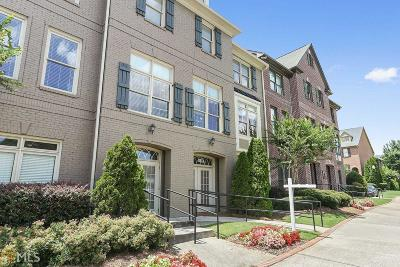 Cobb County Condo/Townhouse For Sale: 1181 Laurel Pl