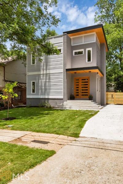 Reynoldstown Single Family Home For Sale: 1124 Hawthorne St