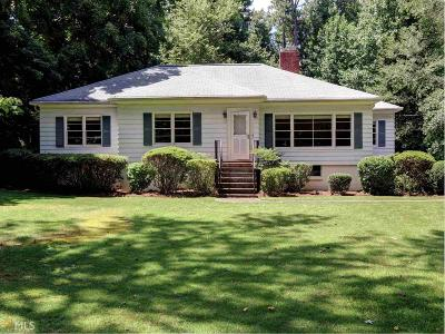 Dekalb County Single Family Home For Sale: 2362 Mount Vernon