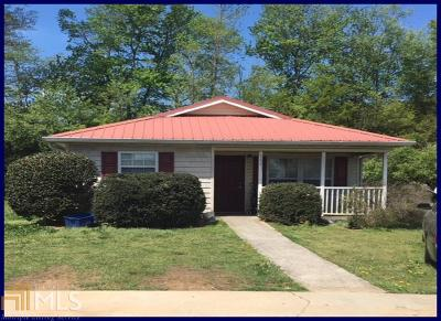 Carrollton Single Family Home Under Contract: 312 Fourth St