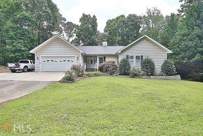 Dawsonville Single Family Home For Sale: 225 Windy Hill Dr