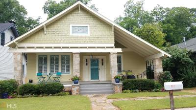 Decatur Single Family Home For Sale: 131 Madison Ave