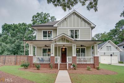 Decatur Single Family Home For Sale: 1129 Adams St