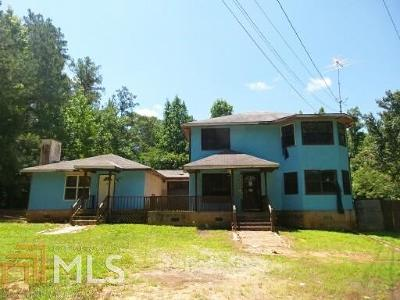 Fairburn Single Family Home Under Contract: 9510 Rivertown Rd