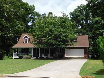 Social Circle GA Single Family Home Under Contract: $235,000