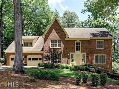 Marietta Single Family Home For Sale: 1946 Willeo Creek Pt