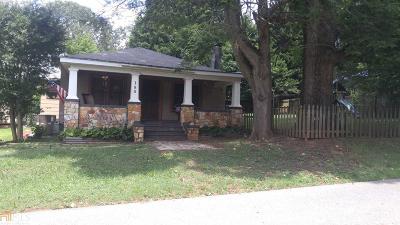 Cornelia Single Family Home For Sale: 188 S Hoyt St