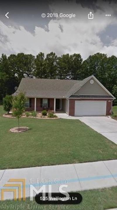 Monroe Single Family Home Under Contract: 534 Wellington