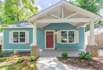 Decatur Single Family Home For Sale: 769 Brown Pl