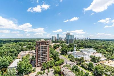 Park Place On Peachtree Condo/Townhouse Under Contract: 2660 Peachtree Rd #25D