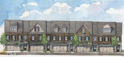 Roswell Condo/Townhouse For Sale: 3184 Havencroft Dr #HomeSite