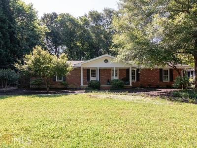 Tucker Single Family Home Under Contract: 2725 Old Norcross Rd