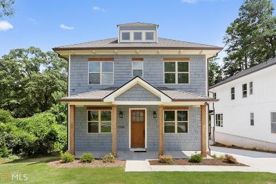 Smyrna Single Family Home For Sale: 1084 Fleming St