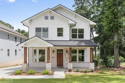 Smyrna Single Family Home For Sale: 1080 Fleming St