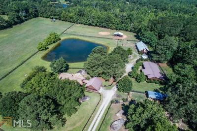 Greensboro Single Family Home For Sale: 3141 Siloam Veazy Rd