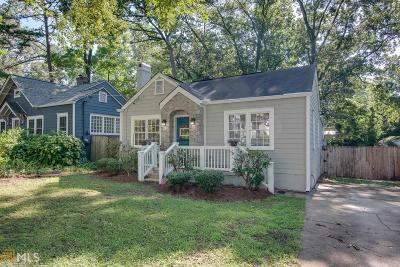 Decatur Single Family Home For Sale: 312 4th Ave