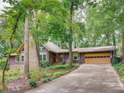 Snellville Single Family Home Under Contract: 1666 Heritage Dr