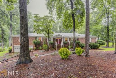 Norcross Single Family Home Under Contract: 4855 Sourwood Ter