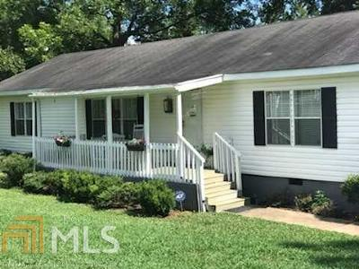 Butts County Single Family Home Under Contract: 346 S Old South River Rd