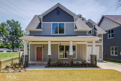 Hapeville Single Family Home For Sale: 3358 Colville Ave