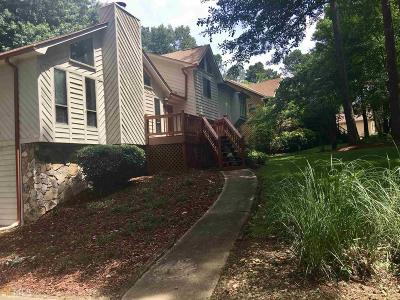 Peachtree Walk Single Family Home For Sale: 2713 Peachtree Pl