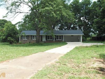 Elbert County, Franklin County, Hart County Single Family Home For Sale: 1353 Montevideo Rd