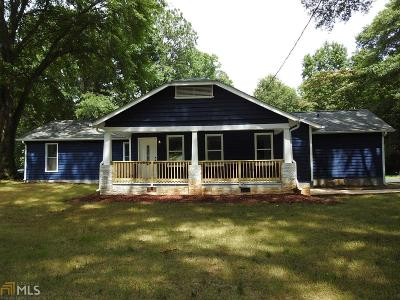 Fulton County Single Family Home For Sale: 670 Hutchens Rd